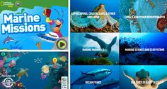 Learn About The Ocean - Apps, websites, videos, etc.