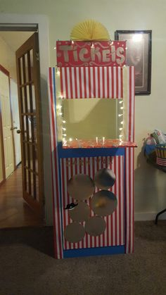 Ticket booth I made