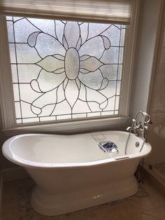 "Customer Photo: 62"" Rusk Cast Iron Slipper Tub  #bathroom #remodel #renovation #bathroomdesign #homepimprovement #homedesign #magnushomeproducts"