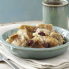 Slow-Cooked Bread Pudding Recipe from Taste of Home -- shared by Maiah Albi of Carlsbad, California