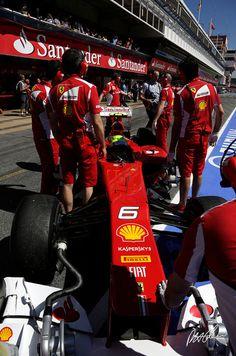 Felipe Massa, Friday Practice, Circuit de Catalunya