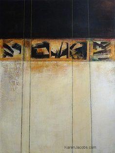 Karen Jacobs -  B.ENKIN -(perspective) - 48x36