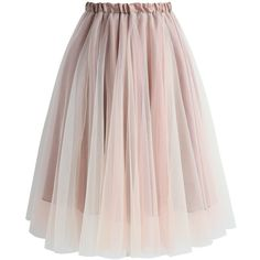 Chicwish Amore Mesh Tulle Skirt in Taupe (625 MXN) ❤ liked on Polyvore featuring skirts, grey, mesh skirt, grey tulle skirt, knee length tulle skirt, gray skirt and taupe skirt