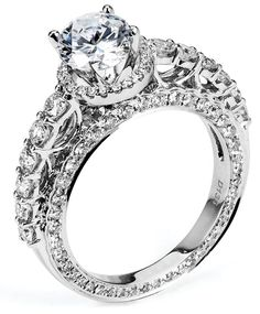 2.26 ctw EGL 18k White Gold G SI1 Round Brilliant Diamond Engagement Ring