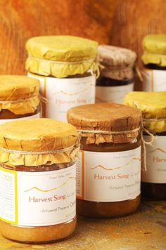 Harvest Song Gourmet 100% Natural Preserve Sour Cherry Nasft Gold Winner 2007, 18.9-Ounce Glass Jars (Pack of 3) ♥