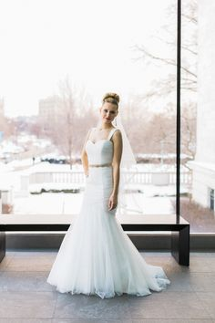 Jim Hjelm. Photography: Studio Elle Photography - studioellephotos.com  Read More: http://www.stylemepretty.com/2014/06/26/gold-and-blush-wedding-inspiration-at-the-cleveland-museum-of-art/