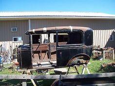 1930 1931 FORD MODEL A 2 DOOR SEDAN BODY 30 A V8 JALOPY DRAG 32 RAT ROD HOT SCTA