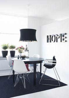 HOME: blanco y negro