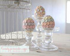 Easter candy pomander eggs » Lolly Jane