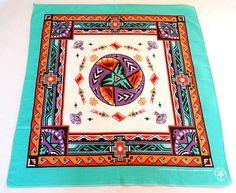 vintage bandana Native American theme unisex accessory
