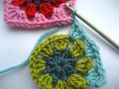 Joining crochet squares as you go- HOW TO