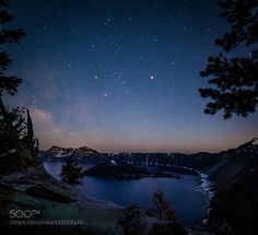 Crater Lake. This is the spot we chose to shoot our Milky Way T ...  This is the spot we chose to shoot our Milky Way Timelapse. I was trying out my new Rokinon 14mm on the Nikon D810 it worked like a charm.  Camera: nikon D810 Focal Length: 14mm Shutter Speed: 20sec Aperture: f/2.8 ISO/Film: 3200  Image credit: http://ift.tt/299yc7t Visit http://ift.tt/1qPHad3 and read how to see the #MilkyWay  #Galaxy #Stars #Nightscape #Astrophotography