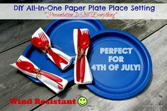 2 Simple Summer Presentation Ideas Using 2 Basic Paper Plates