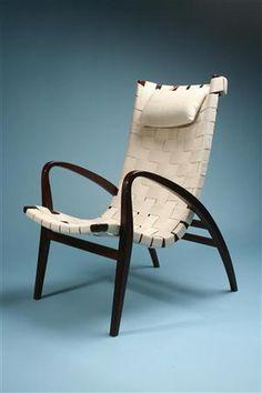 Bruno Mathsson, Grasshopper Armchair for Karl Mathsson, 1931.