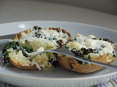 Separate Toasters: Two Ways with Kale and Cheese