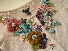 Tea Rose Home: Tutorial ~ She Wears Flowers