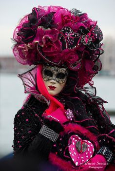 Venice Carnival 2013 on February 3, 2013 in Venice, Italy.