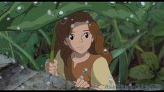 G 8-88/02205 -Arrietty y el mundo de los diminutos [Imagen de http://generacionghibli.blogspot.com.es/]