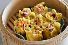 Copycake Kitchen: Pork & Shrimp Siu Mai (Steamed Chinese Dumpling) 猪肉鲜虾烧卖