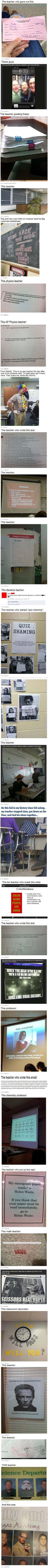 Teachers Who Got the Last Laugh.