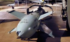 A German Fritz-X aerial Guided Bomb in the World War II Gallery at the National Museum of the U.S. Air Force. One of the first guided munitions. U.S. Air Force photo
