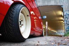 """VW T4 hydro Slammed 16"""" banded steels 9.5J 205/40/16"""
