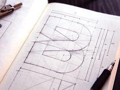 Typeverything.com    Brage Media logo Sketch by Jens Obel.
