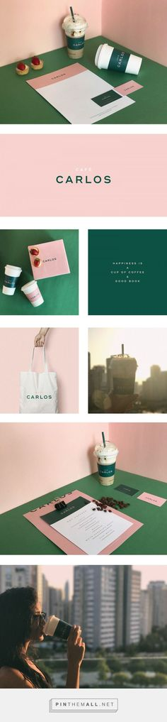 Cafe Carlos Branding by Marka Network | Fivestar Branding Agency – Design and Branding Agency & Curated Inspiration Gallery #branding #identity #design #designideas #designinspiration