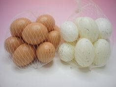 Eggs nets for easter celebration and decoration at banksia bargains