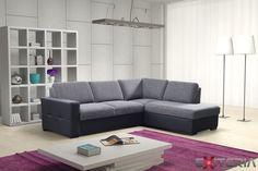 Rozkladacia sedacia súprava Cristina s úložným priestorom #sofa #settee #divan #couch