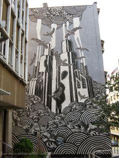 Beogradski grafiti.: Teška industrija / M-City