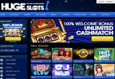 Huge Slots Casino A modern online casino, Huge Slots offers up to a wide selection of slots from countless platforms. Players can enjoy games from platforms including BetSoft, NextGen, and NetEnt to name a few. Gaming, slots, and casino games are all a part of the package. An integrated bingo room is also up for …