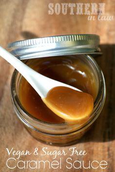 Homemade Healthy Caramel Sauce Recipe - Vegan, Gluten Free, Sugar Free