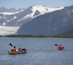 The best way to see Alaska. #kayak
