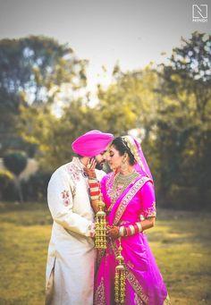 Beautiful and bright couple! Photo by Nindi Studio, Chandigarh #weddingnet #wedding #india #indian #indianwedding #weddingdresses #mehendi #ceremony #realwedding #lehenga #lehengacholi #choli #lehengawedding #lehengasaree #saree #bridalsaree #weddingsaree #indianweddingoutfits #outfits #backdrops #groom #wear #groomwear #sherwani #groomsmen #bridesmaids #prewedding #photoshoot #photoset #details #sweet #cute #gorgeous #fabulous #jewels #rings #tikka #earrings #sets #lehnga