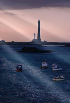#Lighthouse Plouguerneau Finistere Bretagne, #France - http://dennisharper.lnf.com/