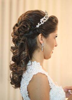 #noiva #bride #hair #cabelo #casamento #cabeleireira #diadanoiva #inspiraçao…
