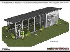 home garden plans: L110 - Chicken Coop Plans - Chicken Coop Design - How To Build A Chicken Coop