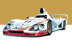These Awesome Prints Of Historic Racing Cars Would Look Great In Your Place - Airows