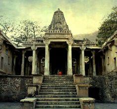 Shiva temple in Bhangarh...Rajasthan..India.
