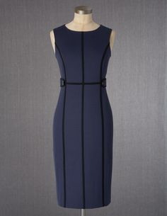 Navy & Black Dress