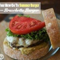 Quick & Easy Bruschetta Burgers  http://moderndaymoms.com/quick-easy-bruschetta-burgers/