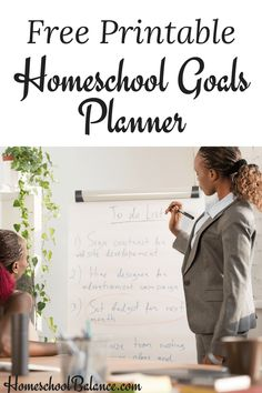 Do you need more purpose in your homeschool day? Check out my FREE printable homeschool goals planner today!