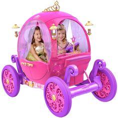 24-volt Disney Princess carriage - Inside the Magic