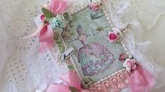 Marie Antoinette Journal French Theme by underthenightmoon on Etsy, $25.00