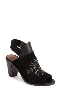 Donald J Pliner 'Khloe' Leather Bootie suede/elastic/leather black 5sh 3h sz7.5 248.00