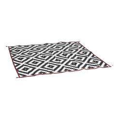 Bo-Camp Außenteppich Chill mat Picnic m Schwarz und Weiß Large Picnic Blanket, Outdoor Blanket, Outdoor Carpet, Outdoor Rugs, Outdoor Living, Wine Picnic Basket, Greige, Picnic Backpack, Green And Grey