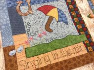 ABC quilt Picnic Blanket, Outdoor Blanket, Inner Child, Quilt Making, Cupboard, Kids Rugs, Quilts, Embroidery, My Favorite Things