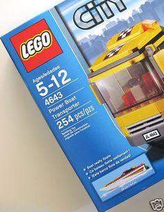 LEGO City 4643 Power Boat Transporter New Sealed (Marina Harbor).....$59.95