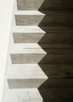 Zig zag shadows on the stairs. Photo: Heather Moore